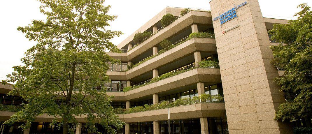 Gebäude der VKB in München: Die Versicherungskammer Bayern belegt den höchsten Platz in dem Ranking.|© Versicherungskammer Bayern