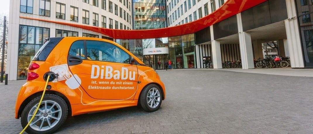 Eingang zur Firmenzentrale der ING Deutschland|© ING Pressefoto