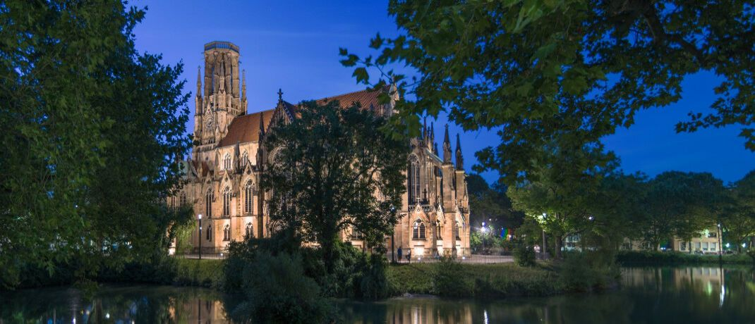 Johanneskirche in Stuttgart: Die Stuttgarter Vermögensverwaltung Steinhart & Stahl bringt einen Aktienfonds auf den Markt.