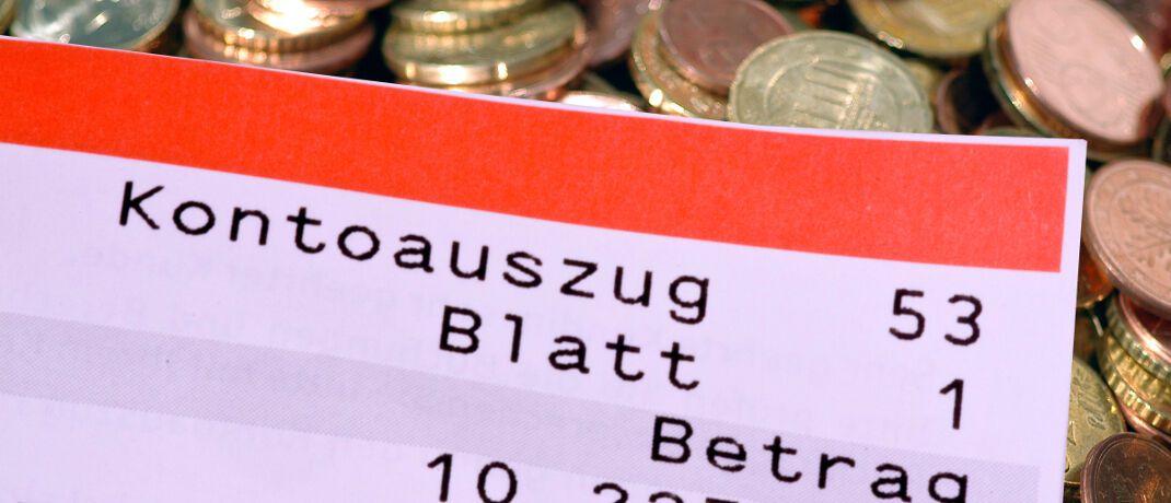Kontoauszug: Nutzer von Tages- und Festgeld auf Online-Plattformen wie Savedo, Weltsparen und Zinspilot sind der Studie zufolge überdurchschnittlich aktiv. Sie legen demnach mehr als doppelt so hohe Beträge an.|© Andreas Morlok / <a href='http://www.pixelio.de/' target='_blank'>pixelio.de</a>