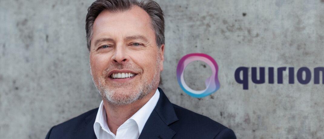 Martin Daut und Quirion-Gründer Karl Matthäus Schmidt kennen sich bereits seit Jahren.