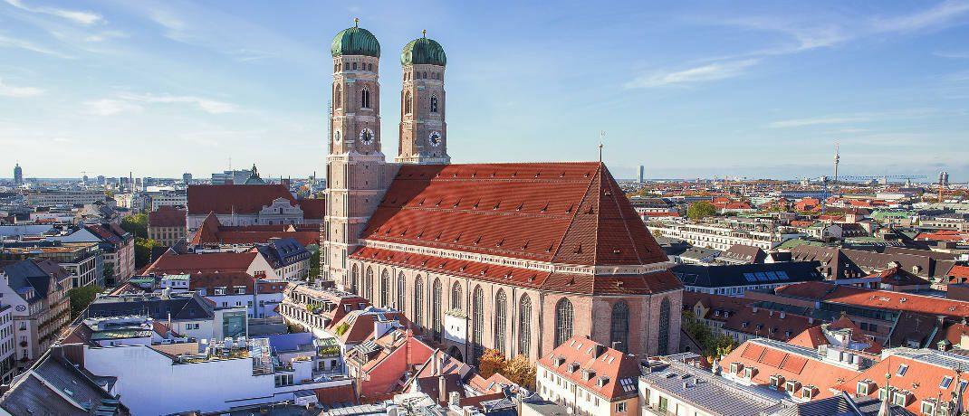 Blick auf die Frauenkirche in München: Bayern will bei der Grundsteuer-Reform ein eigenes Modell umsetzen.