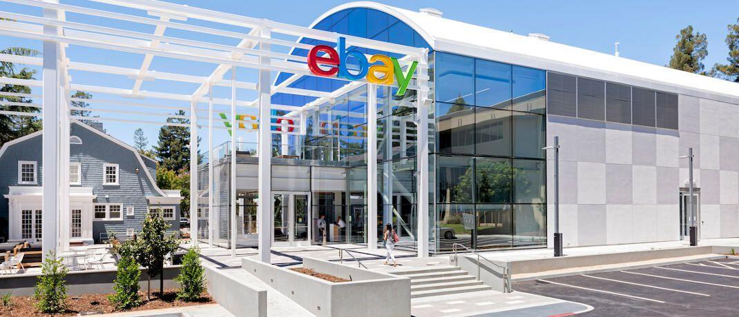 Ebay-Zentrale in San José, USA: Die Handelsplattform hat ihren Ausstieg aus dem Libra verkündet.|© Hamilton/Ebay