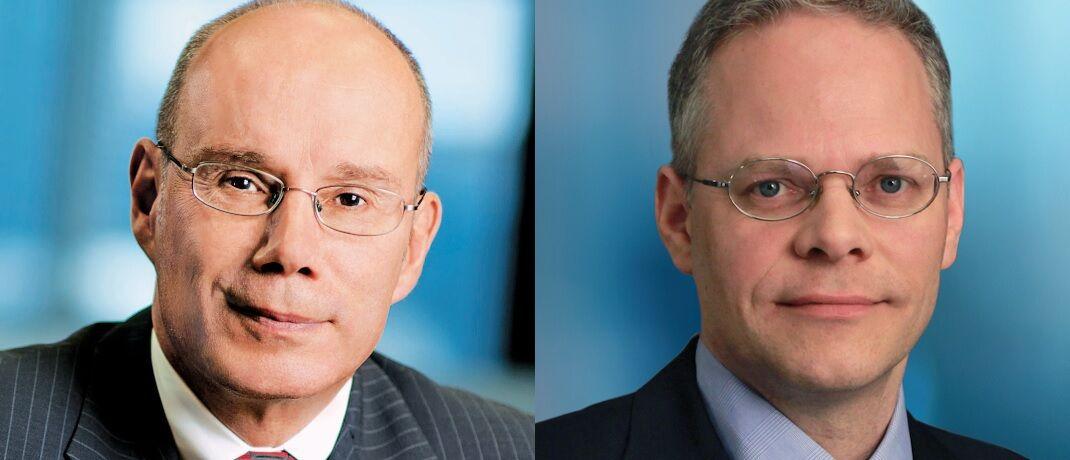In den vergangenen fünf Jahren konnte Norman Boersma (links) mit dem Templeton Growth nicht überzeugen. Zum Jahresende übernimmt Peter Moeschter, und das Research-Team stellt sich neu auf.