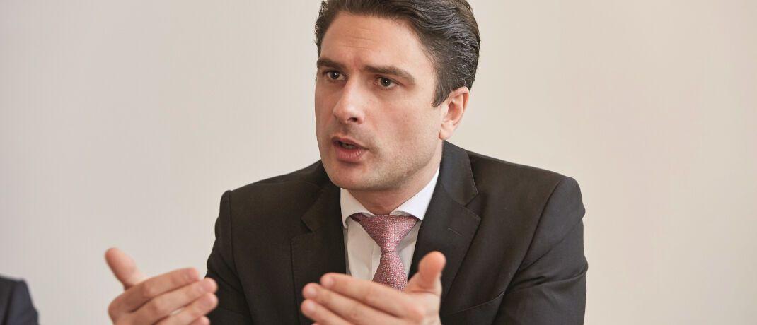 Peter Scharl leitet bei Blackrock das Privatkundengeschäft und das Geschäft mit Indexfonds (ETFs) unter der Marke iShares in Deutschland, Österreich und Osteuropa. Er arbeitet seit 2007 bei Blackrock.|© Piotr Banczerowski