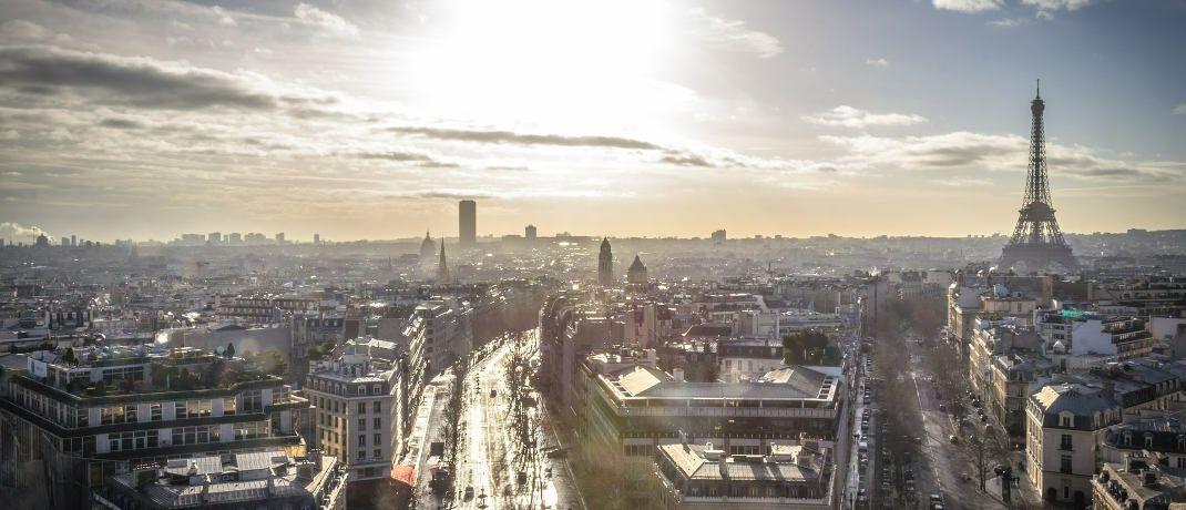 Blick auf Paris: Die Fondsgesellschaft Natixis Investment Managers hat in der französischen Hauptstadt ihren Hauptsitz.|© Pixabay