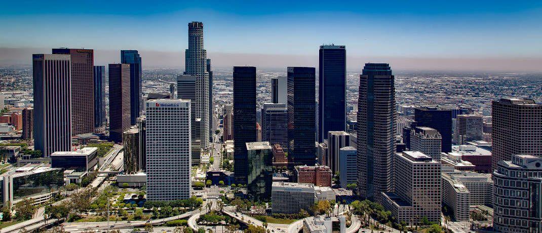 Skyline von Los Angeles: In der kalifornischen Stadt hat die Capital Group ihren Hauptsitz. © Pixabay