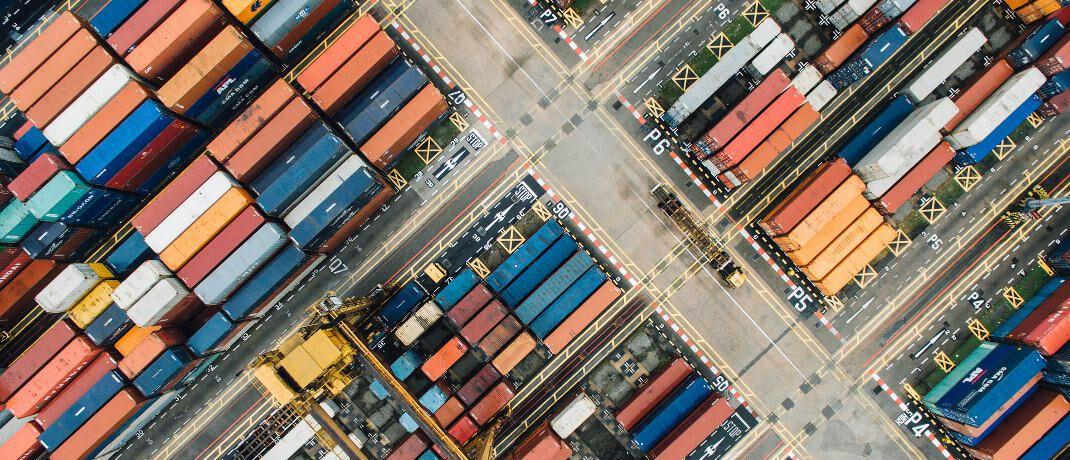Umschlagsplatz für Frachtcontainer: P&R versprach Anlegern hohe Renditen – knapp zwei Drittel der angeblich vermieteten Container existierten allerdings gar nicht.|© Pixabay
