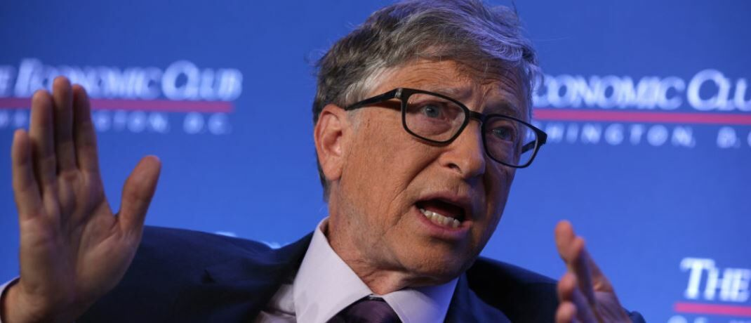 Philanthrop und Tech-Euphoriker Bill Gates: Mit Mini-Meilern will er die Kernkraft revolutionieren.