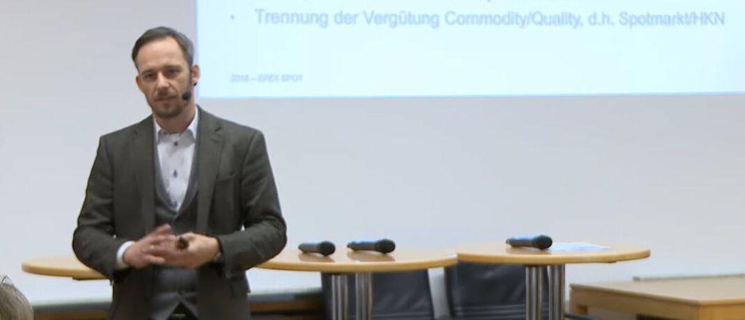 Maximilian Rinck ist bei der Europäischen Strombörse als Analyst tätig.|© Ifo-Institut - Leibnitz-Institut für Wirtschaftsforschung an der Universität München