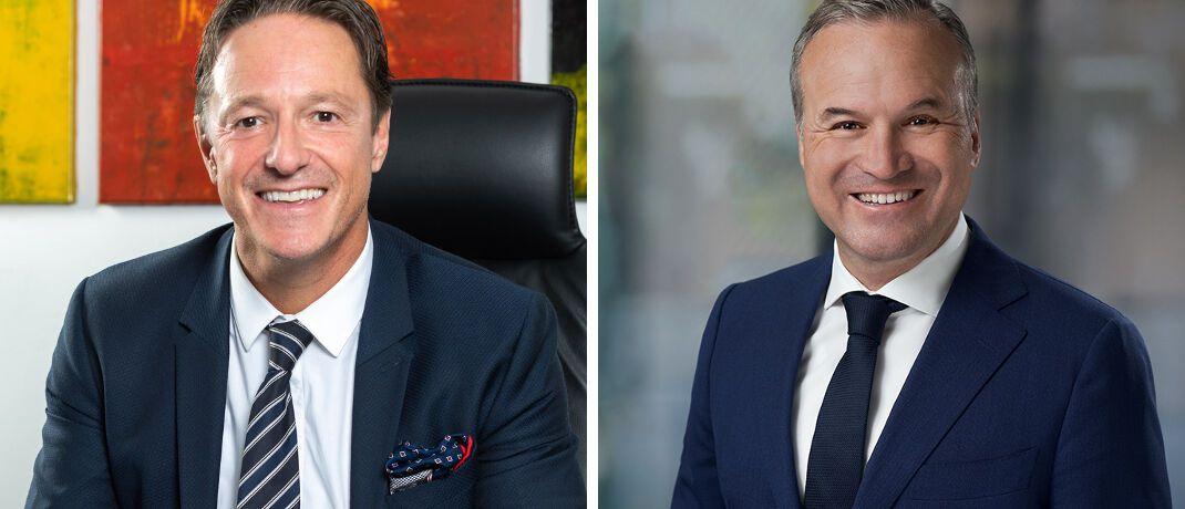 Thomas Heß und Mark Mauermann: Die beiden Vertriebsexperten führen ab dem neuen Jahr den für unabhängige Vermittler zuständigen WWK-Partnervertrieb.|© WWK Lebensversicherung a.G.