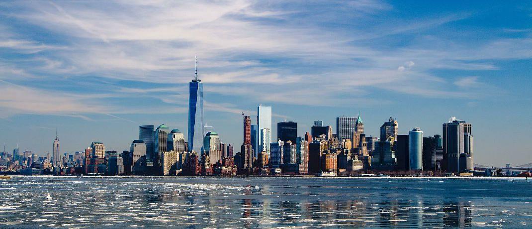 Skyline von New York: In der Metropole hat Vermögensverwalter Vaneck seinen Hauptsitz.|© Pixabay