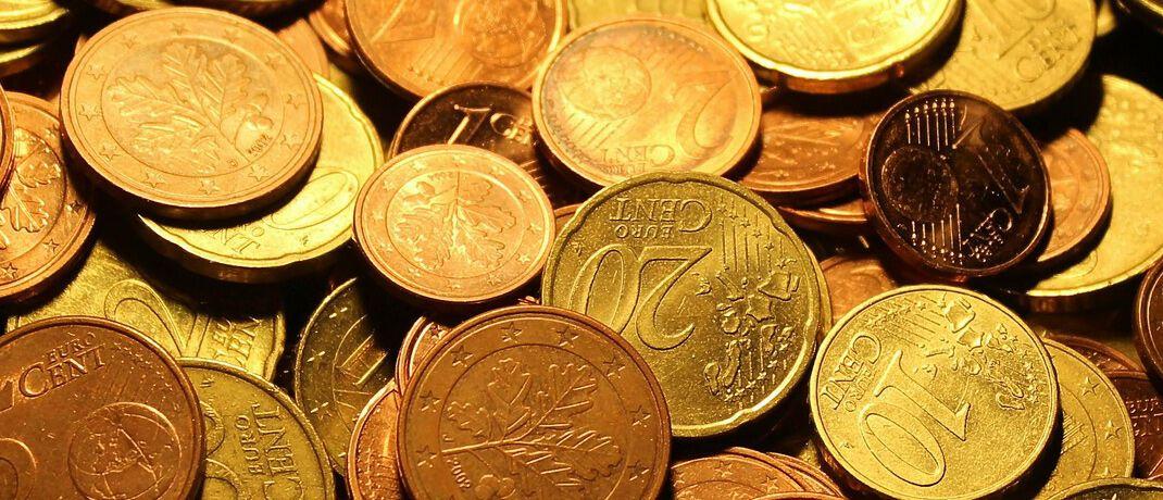 Euro-Münzen: Bargeld wird immer weniger fürs Bezahlen eingesetzt.  © Pixabay