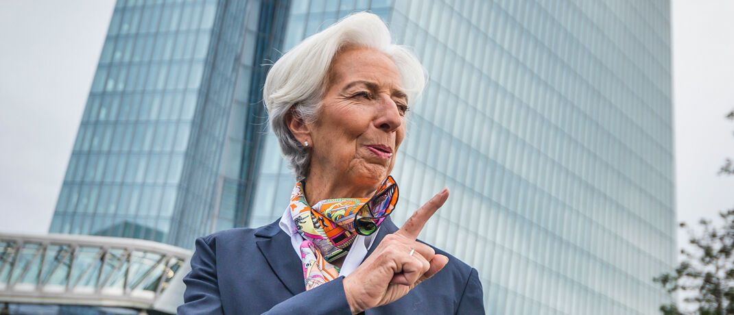 Christine Lagarde ist seit 1. November EZB-Präsidentin. | © Getty Images
