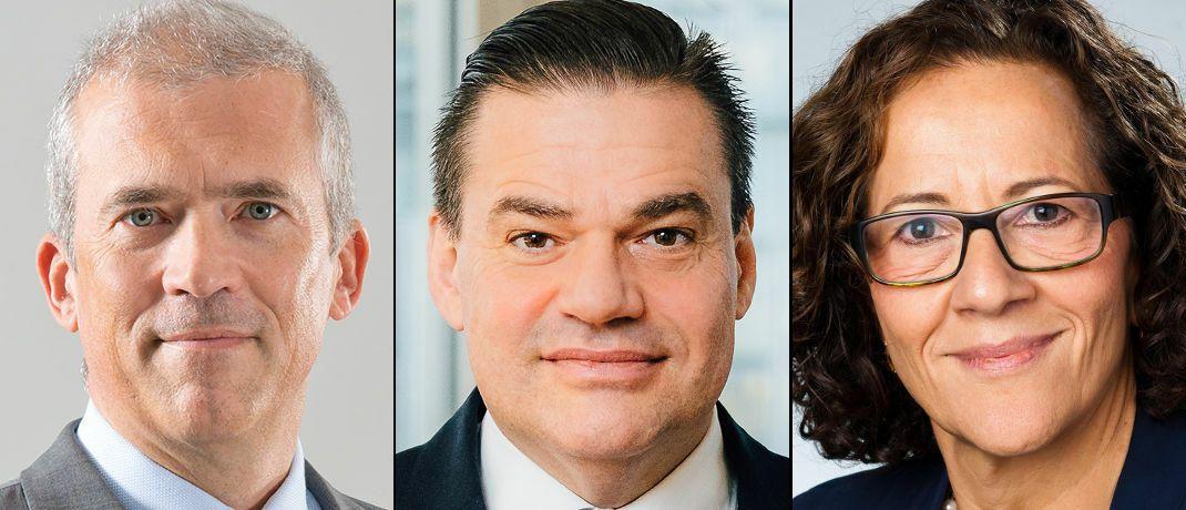 Von links nach rechts: Andreas Utermann, Tobias C. Pross, Deborah Zurkow|© AGI