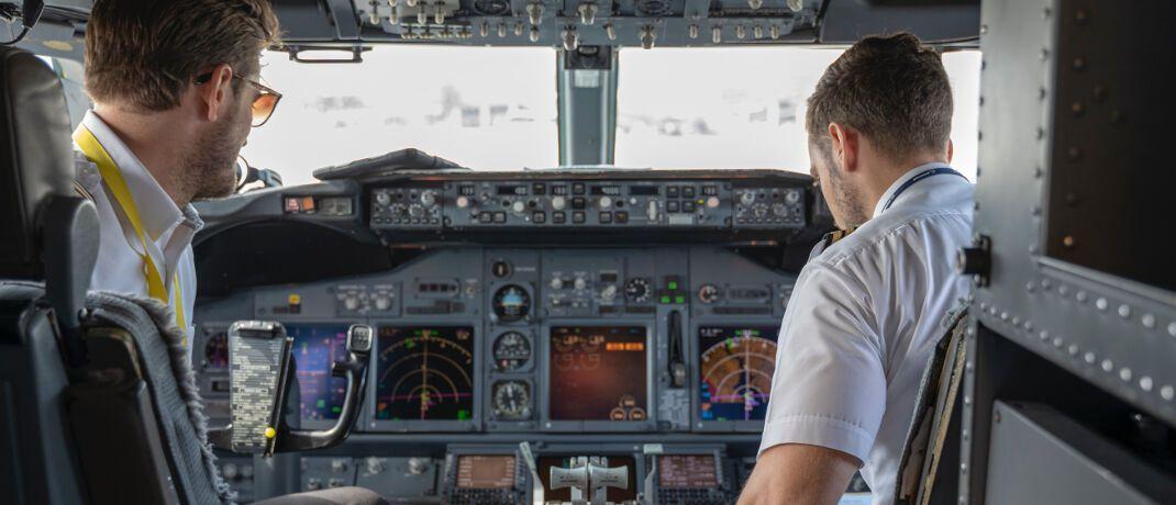 Piloten: In Risikoberufen sind die Erwerbstätigen besonderen körperlichen oder psychischen Belastungen ausgesetzt. Bei ihnen gibt es statistisch gesehen besonders viele Fälle von Berufsunfähigkeit.