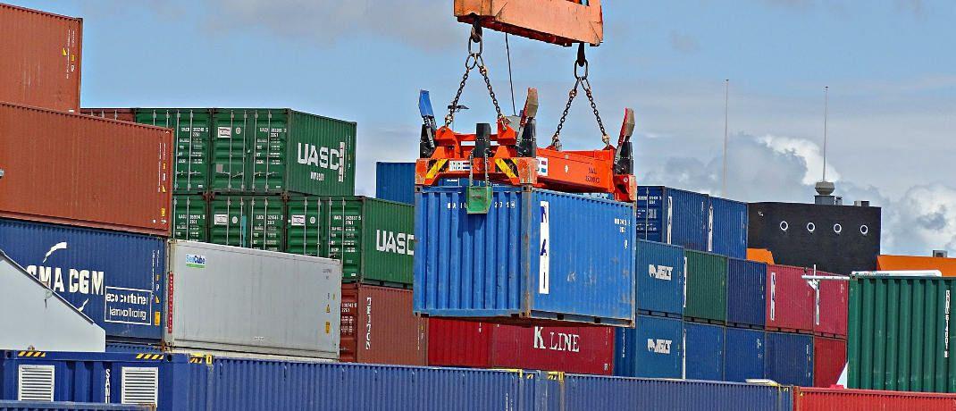 Schiffscontainer: Viele der von P&R vermieteten Container existierten nicht. © Pixabay