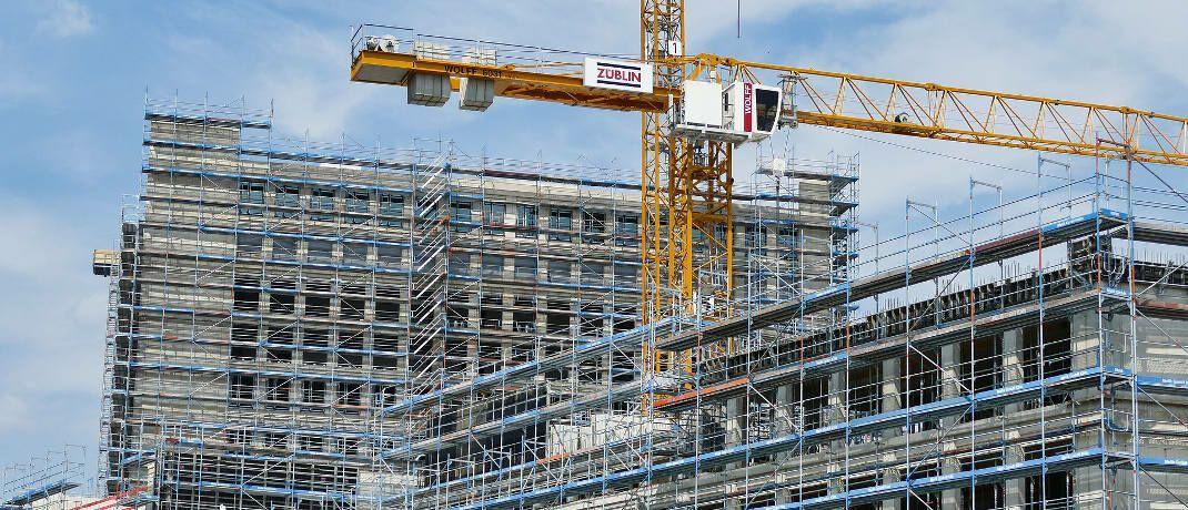 Baustelle: Energieverbrauch und Umweltzertifizierungen von Immobilien sind Auswahlkriterien für den neuen Indexfonds.|© Pixabay