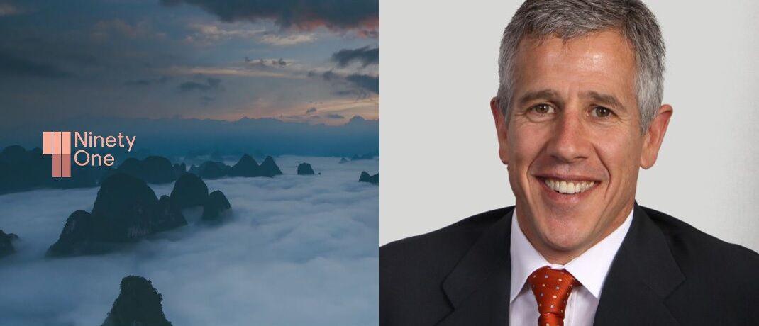 Der bisherige Investec-AM-Chef Hendrik du Toit soll auch im neuen Unternehmen an der Spitze stehen. Links das zukünftige Firmenlogo.