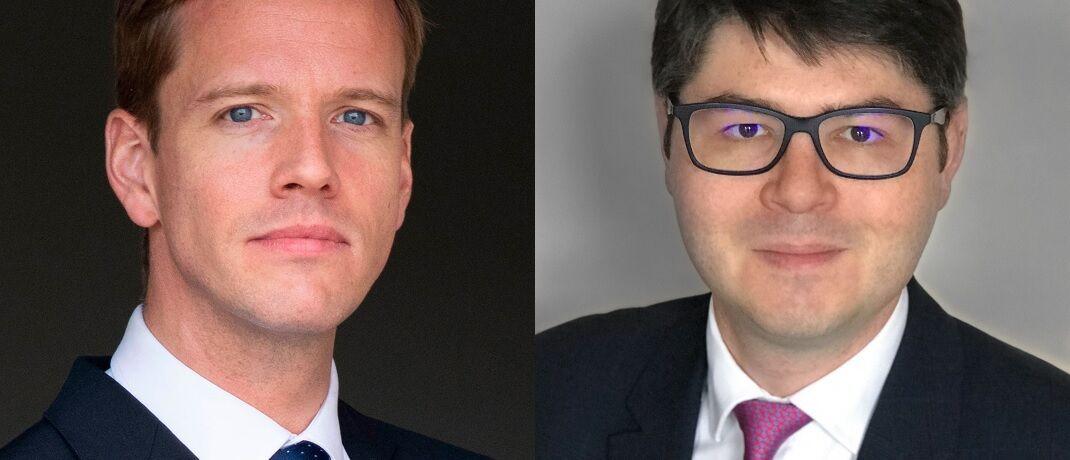 Übernehmen das Management des 3-Milliarden-Fonds bei EdRAM: Nicolas Leprince (li.) und Julien Tisserand. © EdRAM