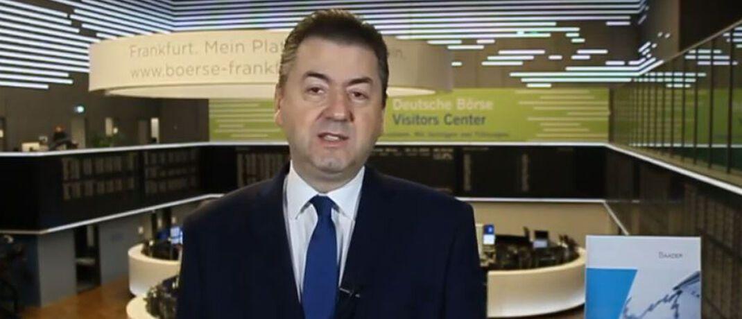Robert Halver ist Leiter der Kapitalmarktanalyse bei der Baader Bank. © Robert Halver / youtube
