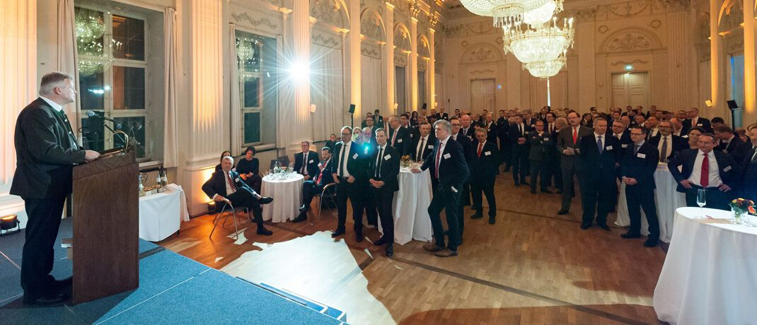 Festliches Ambiente: Die Gäste des Gala-Abends in der Münchener Residenz. |© Elite-Report