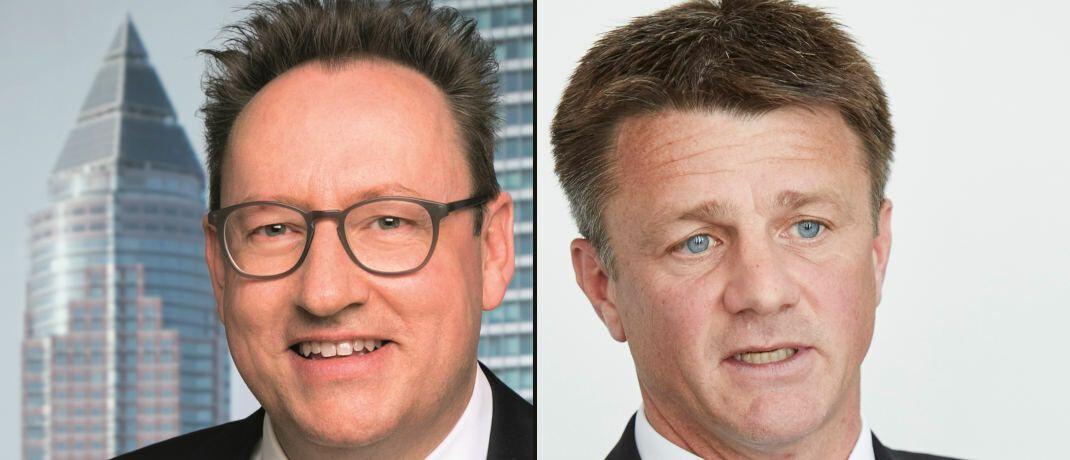 Universal-Investment-Chef Michael Reinhard (links) und Metzler-Partner Marco Schulmerich|© Universal-Investment / Piotr Bancerowski