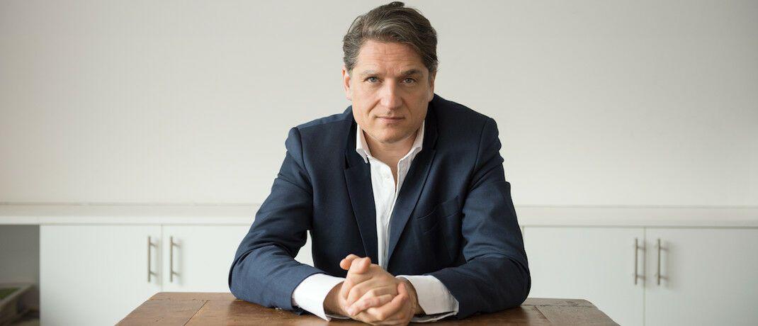 """Verleger Jakob Augstein: """"Solange wir den Kapitalismus haben, sollten wir ihn nutzen."""" © Franziska Sinn"""