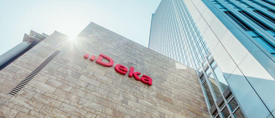 Deka-Zentrale in Frankfurt: Das Wertpapierhaus der Sparkassen will enger mit der Helaba zusammenarbeiten..