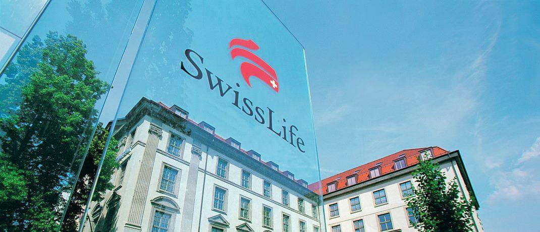 Swiss-Life-Niederlassung im Palais Leopold in München: Der Versicherer hält die Überschussbeteiligung für 2020 stabil. © Swiss Life