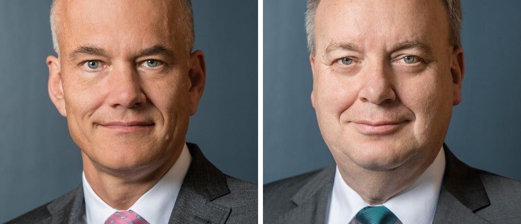 Neuer VGH-Chef Ulrich Knemeyer (li.) und sein Vorgänger Hermann Kasten