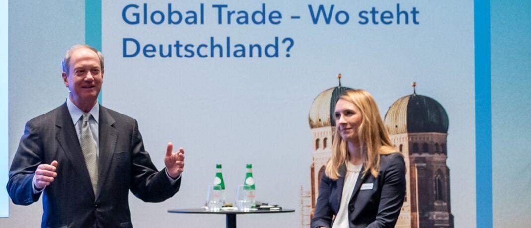 John Emerson im Gespräch mit Karolyn Krekic, Managing Director Capital Group: Nicht nur der deutsche Mittelstand lockt ausländische Anleger, sondern auch Firmen, die Millennials adressieren.