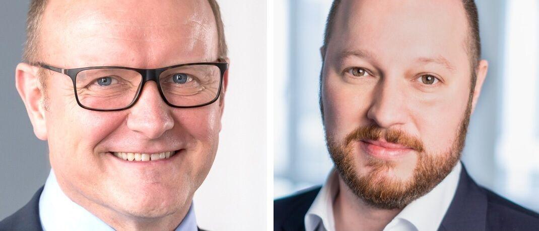 Klaus Strumberger (li.) und Pascal Schiffels, neue Geschäftsführer von Morgen & Morgen.