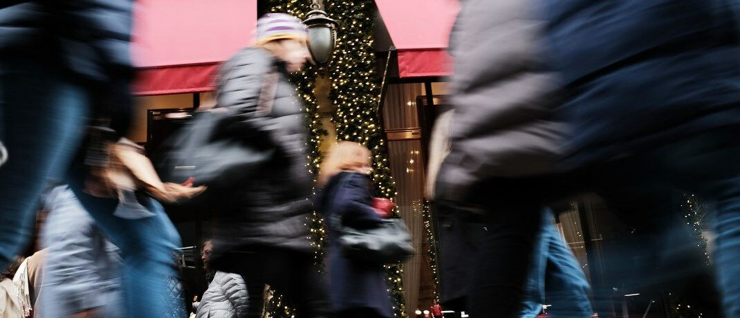 Weihnachtsshopping in New York City