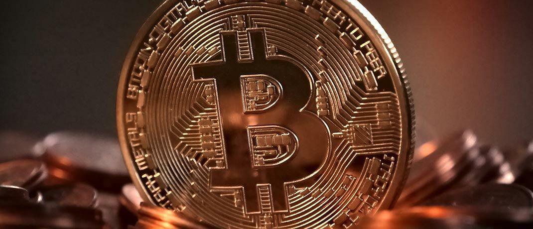 Bitcoin-Münze: Das Verwahrgeschäft von Kryptowährungen und weiterer digitaler Wertpapiere entsteht gerade als Markt in Deutschland.|© Pixabay