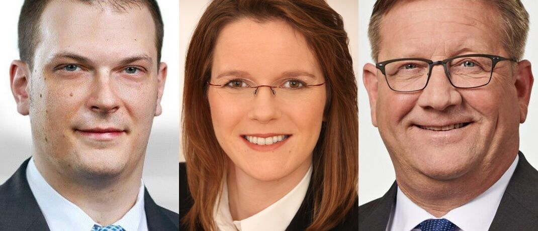 Christopher Zilch, Alexandra Zentis und Oliver Heist (v. li.) haben sich die neue EU-Gesetzgebung für Wertpapierfirmen angesehen.|© Ernst & Young