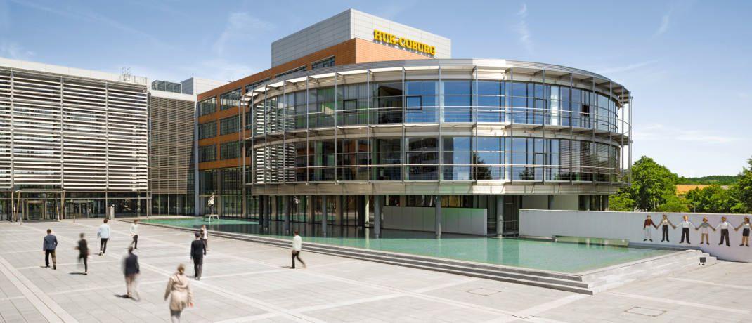 Verwaltungsgebäude der Huk-Coburg: Der Versicherer wehrt sich gegen die Kritik, Verbrauchern zu schaden.|© HUK-COBURG