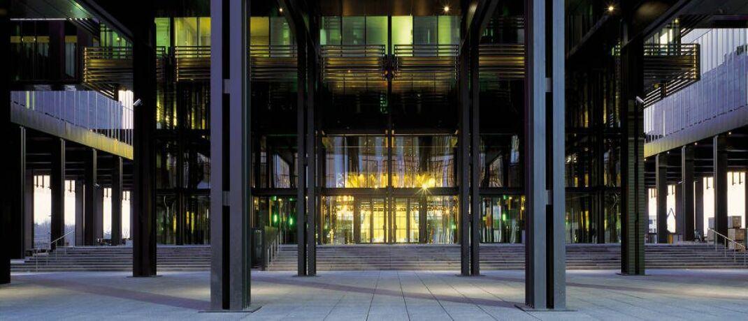 Haupteingang des Europäischen Gerichtshofs