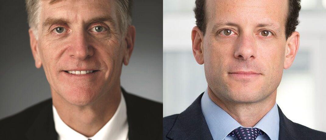 Larry Hatheway (li.) und Alexander Friedman: Die Ex-GAM-Manager wollen sich selbstständig, kündigt Hatheway auf seinem Linkedin-Profil an.