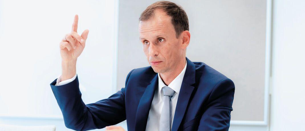 Jörg Schmidt leitet bei Union Investment die Managerauswahl im Multi-Asset-Management.  |© Andreas Mann