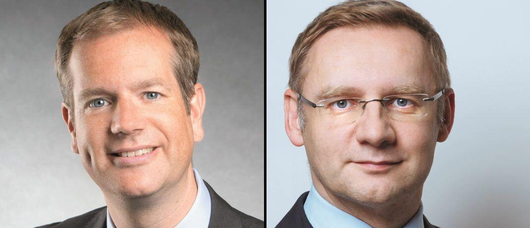 Bewerten Fondsmanager nun auch in puncto Nachhaltigkeit: Michael Viehmann (links), Vorstandsmitglied Sauren Fonds-Research, und Eckhard Sauren, Gründer und Vorstandschef Sauren Fonds-Service|© Sauren Fonds-Research