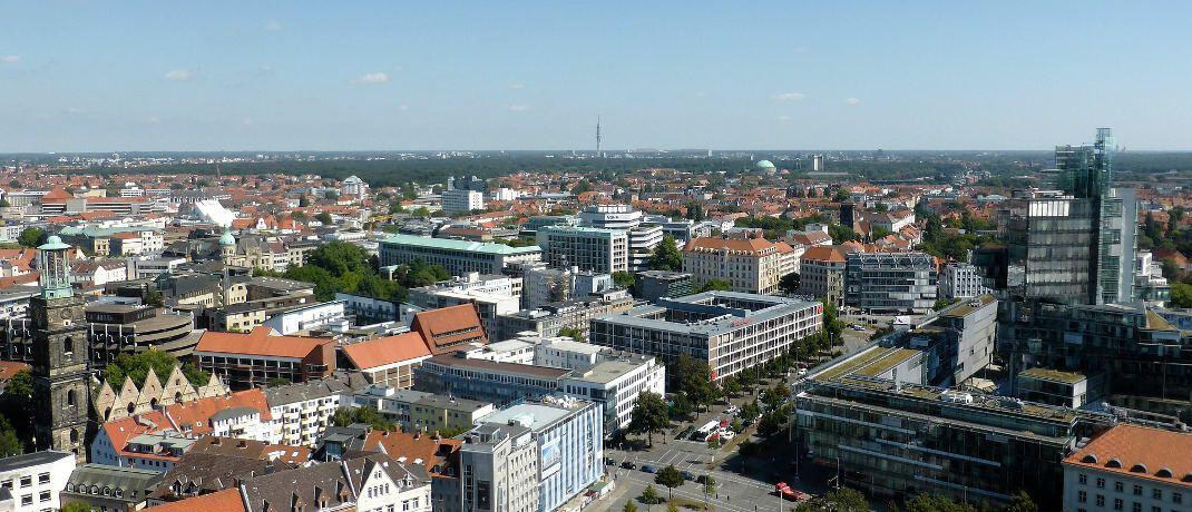 Blick auf Hannover: In Deutschland hat Bantleon in der norddeutschen Stadt sowie in München Niederlassungen. © Pixabay