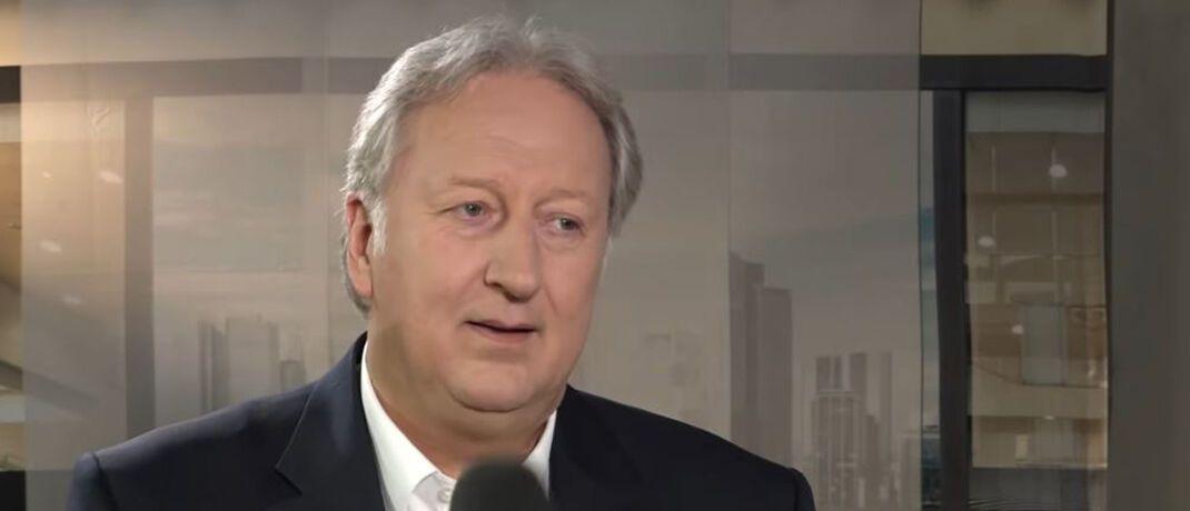 Solvecon-Chefanalyst Folker Hellmeyer.|© Finance News TV