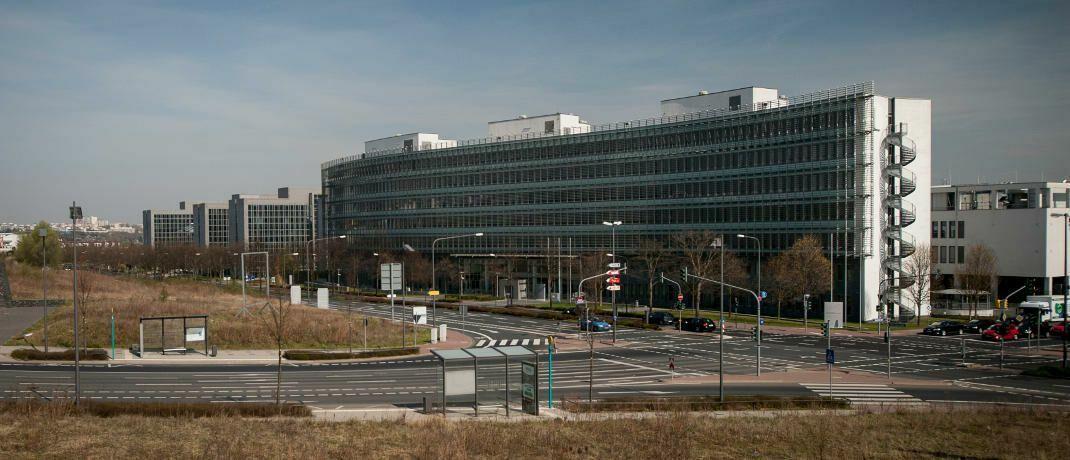Bafin-Liegenschaft in Frankfurt: Die Finanzaufsicht plant verschärfte Prüfungshandlungen für Versicherer.|© Kai Hartmann / Bafin