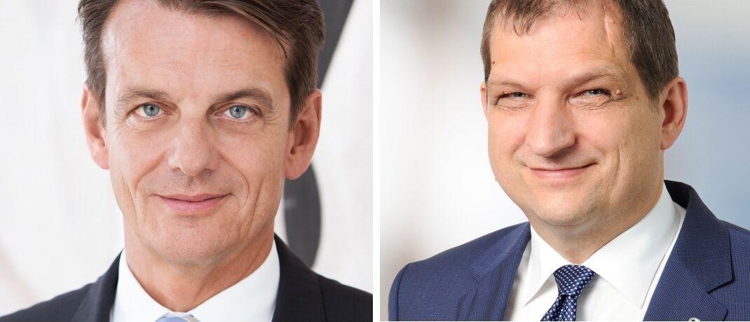 Von links: Marcus Kremer und Helmut Hofmeier übernehmen weitere Vorstandsposten im Continentale-Versicherungsverbund.|© Continentale