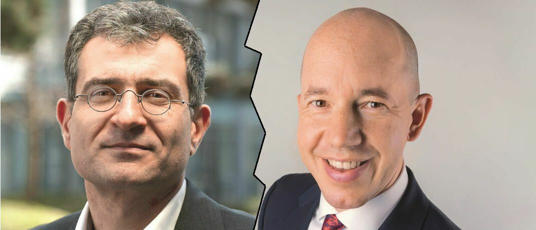 Morningstar-Chefanalyst Ali Masarwah (links) und Greiff-Chef Volker Schilling | © Morningstar, Greiff Capital Management