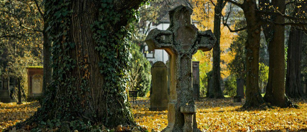 Ein Friedhof: Termfix-Lebensversicherungen haben für Erben einen entscheidenden steuerlichen Nachteil.|© Pexels