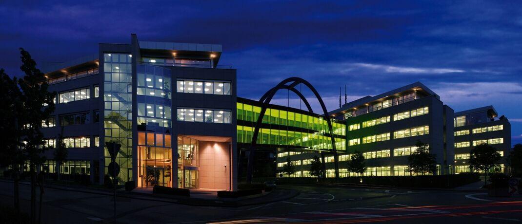 Das Gebäude der Targo-Versicherung in Hilden: Die Targo-Indexpolice auf den Dax, die im Dezember 2019 auslief, brachte eine Rendite von 11,37 Prozent ein.|© Targo