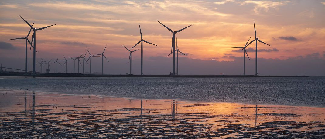 Windkraftanlagen an der Nordsee: Der geschlossene Fonds von BVT legt seinen Fokus auf Investitionen in erneuerbare Energien. © Pixabay