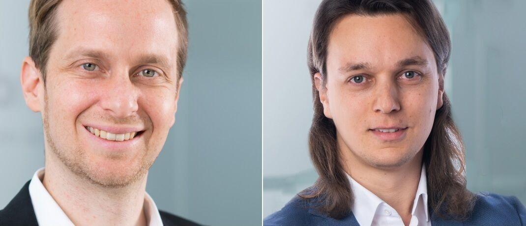 Philipp Kanschik (li.) und Christopher Gentzler, neue Geschäftsleiter der Policen Direkt Versicherungsvermittlung.|© Policen Direkt